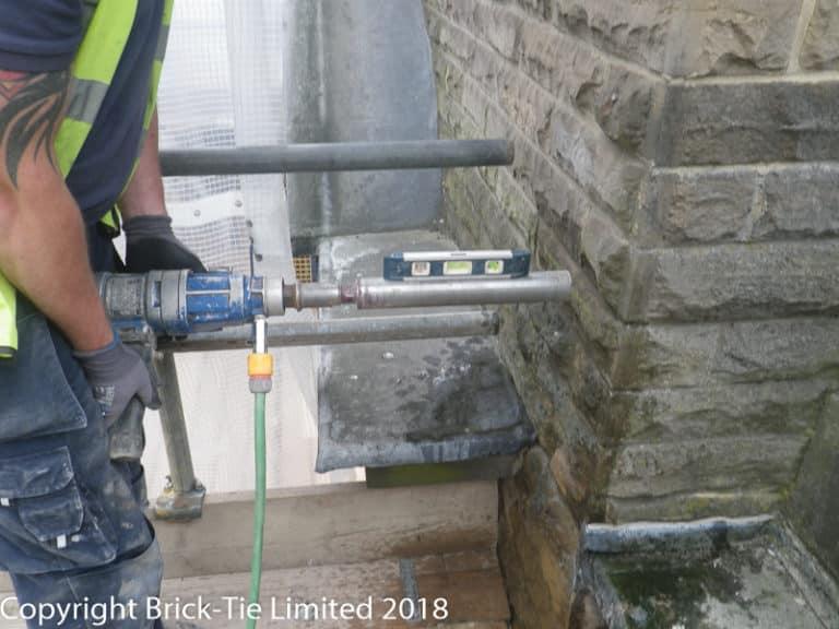 Cintec sock anchor for Harrogate Baths