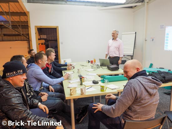 Health and Safety training at Brick-Tie