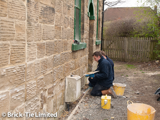 Lime Pointing by Brick-Tie Technicians