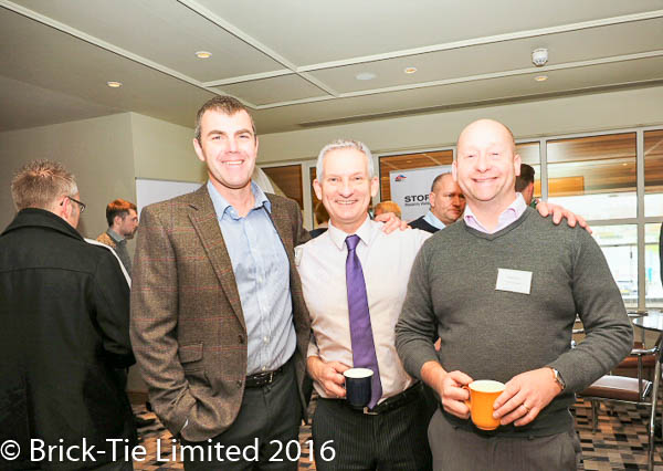 Mike Duckett, David Horne and Bryan Hindle