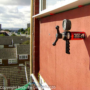 Remedial Wall Ties for a Leeds Tower Block