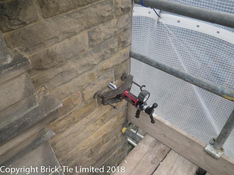 Tension Testing Cintec 15kN achieved in Harrogate