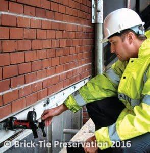 Testing Remedial Wall Ties