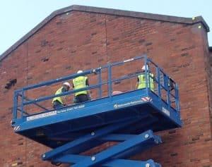 Brick-Tie installing Helifix Cemties in Leeds